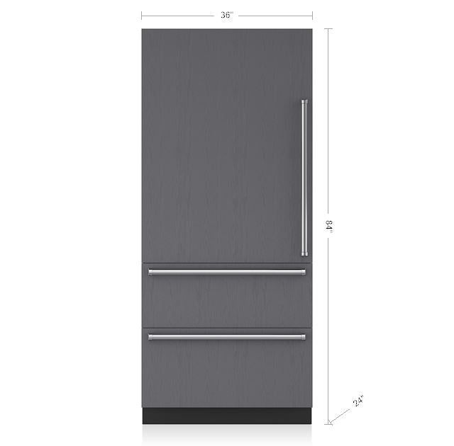 "Sub-Zero IT-36CIID 36"" Integrated Over/Under Refrigerator Freezer REFRIGERATOR SUB-ZERO"