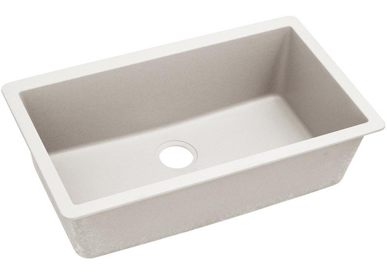ELKAY ELXRU13322RT0 Quartz Luxe Single Bowl Undermount Sink | Ricotta