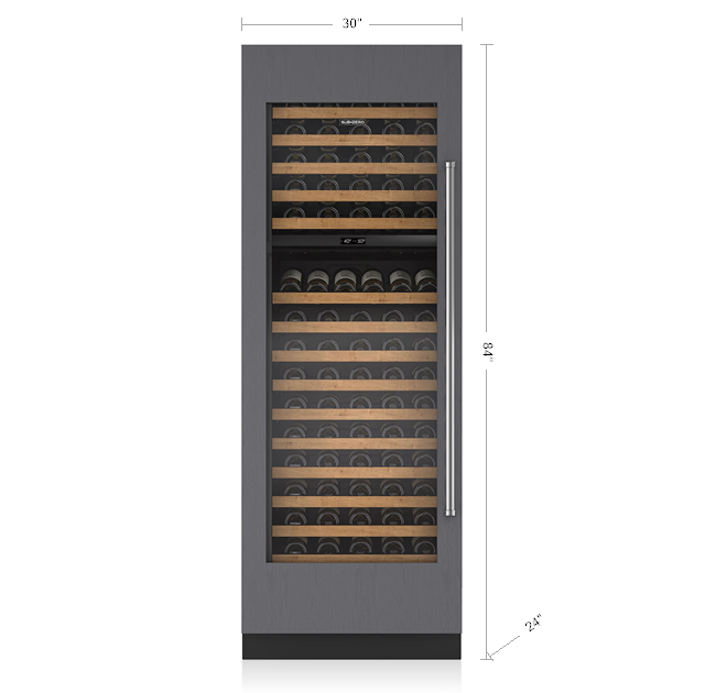"SUB-ZERO 30"" INTEGRATED WINE STORAGE - PANEL READY IW-30"