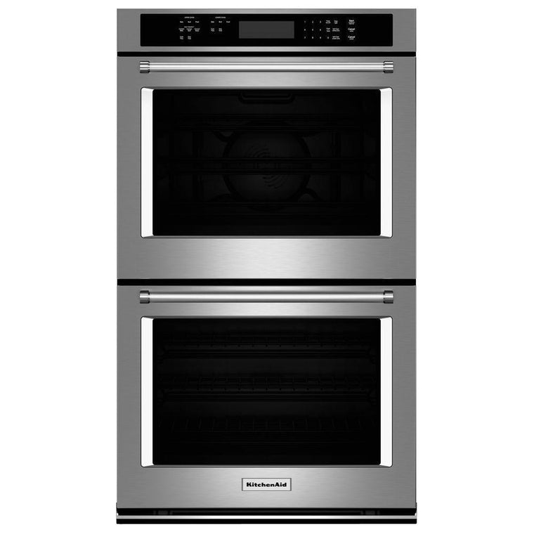 "KITCHENAID KODE300ESS 30"" Double Wall Oven with Even-Heat™ True Convection"