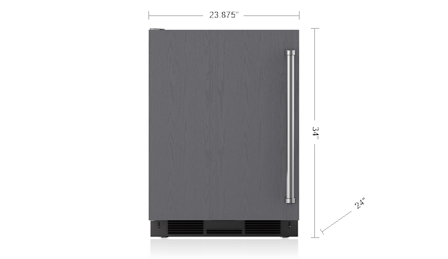 "SUB-ZERO 24"" UNDERCOUNTER REFRIGERATOR/FREEZER WITH ICE MAKER - PANEL READY UC-24CI"