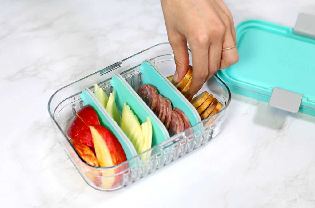 Fresh and Easy DIY Lunchables Using PackIt Mod Lunch Bento Container
