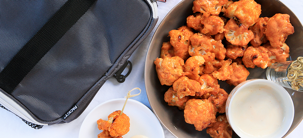 Buffalo Cauliflower 'Wings': Perfect Superbowl Appetizer
