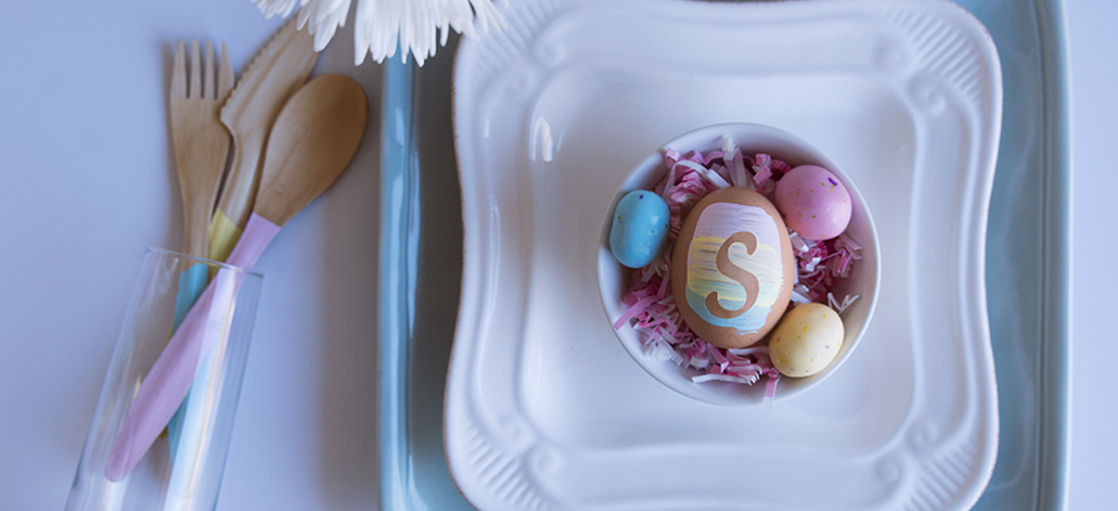 DIY Easter Brunch Table Settings