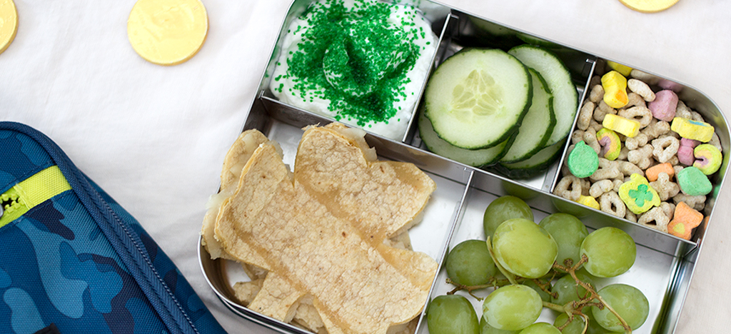 Kid's St. Patrick's Day Themed Lunch