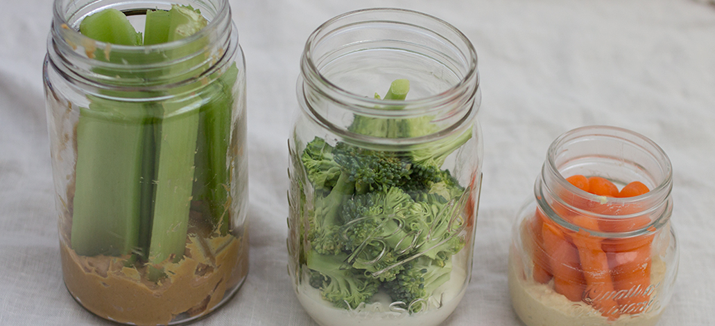 Veggie Jars On-the-Go