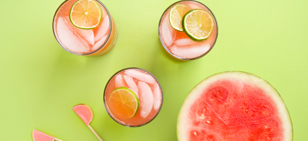 Summer Watermelon Lime Refresher