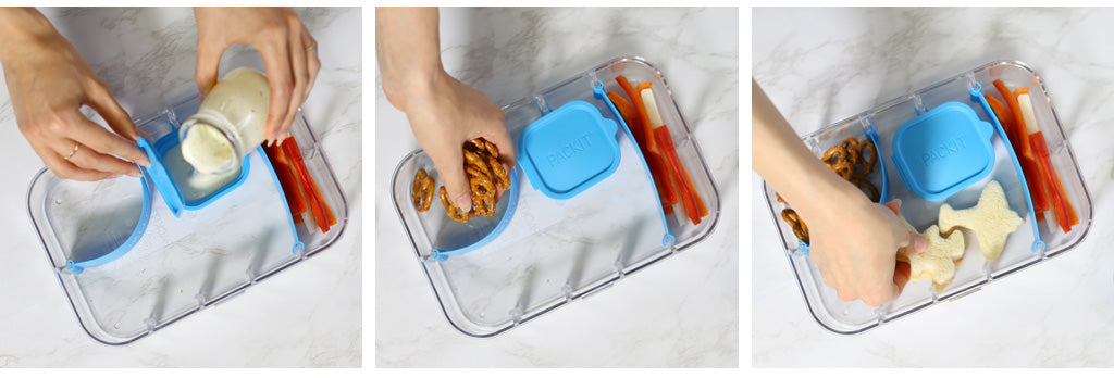 PackIt Flex Bento Container