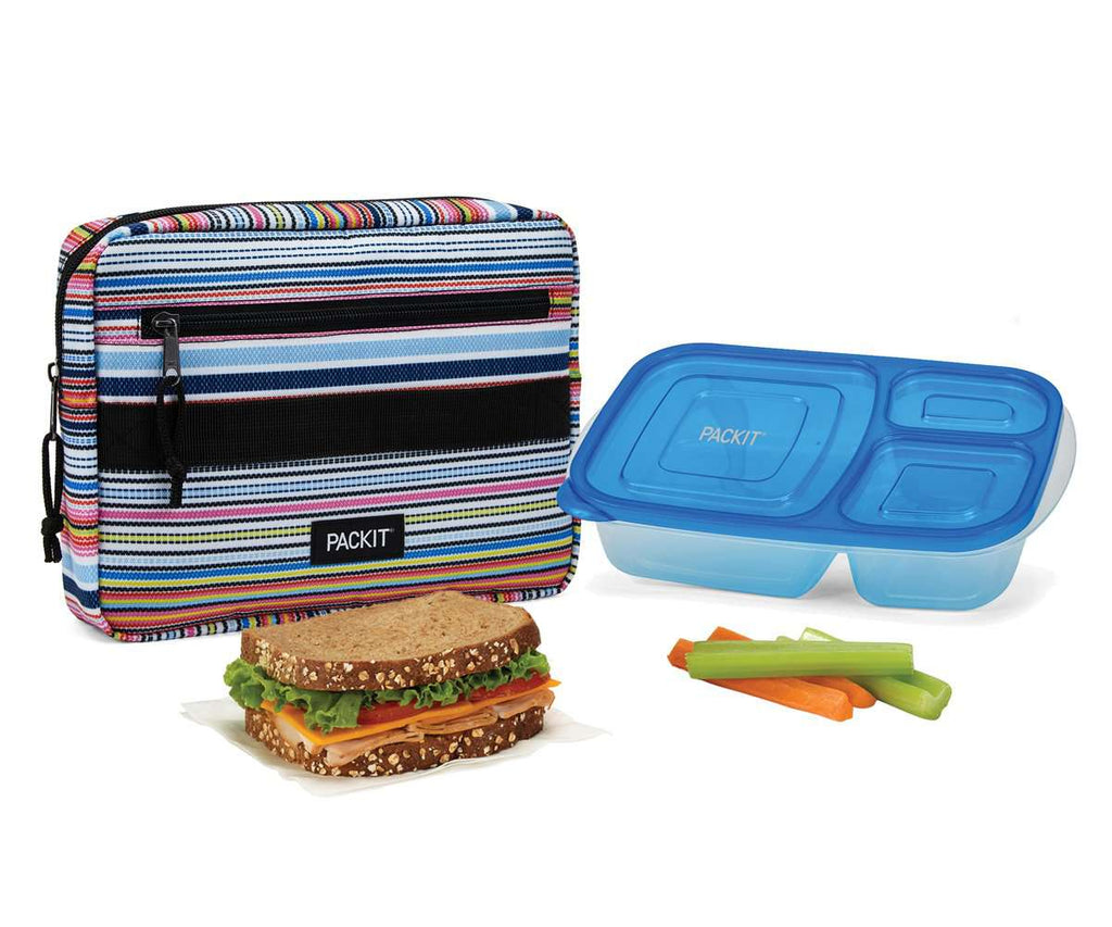 Freezable Bento Box Set - Blanket Stripe