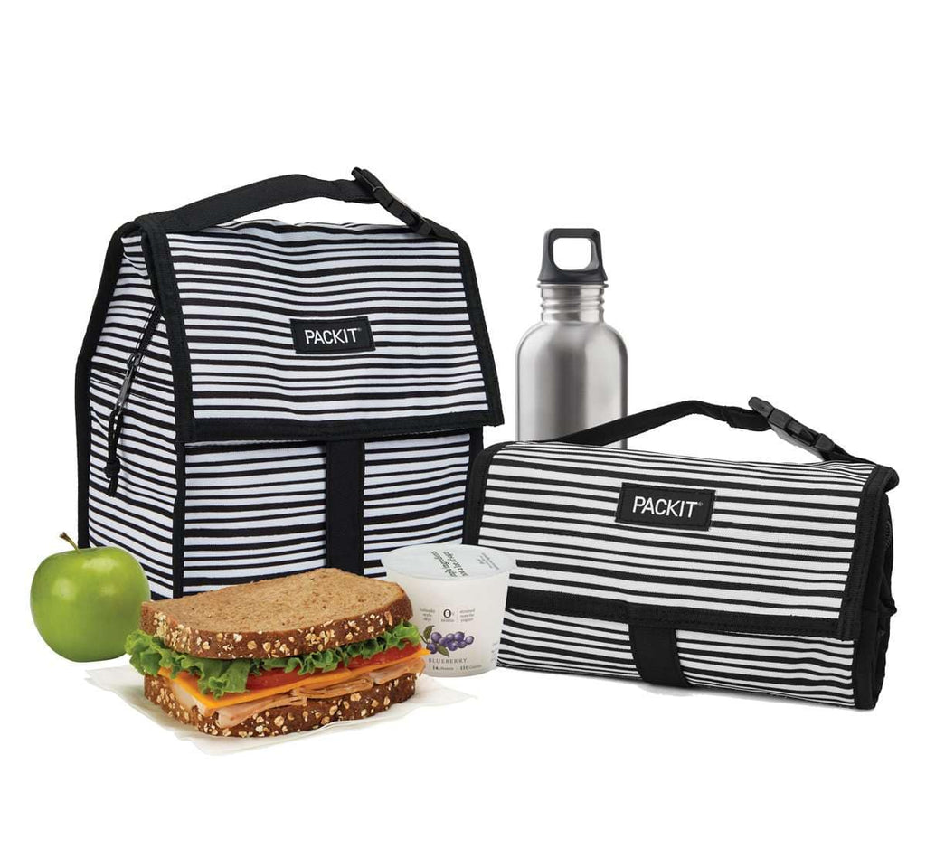 Freezable Lunch Bag - Wobbly Stripe