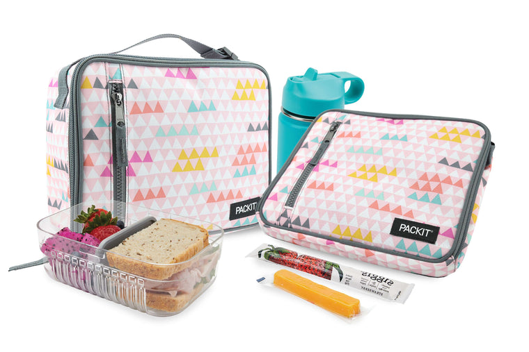 Freezable Classic Lunch Box - Paper Triangles