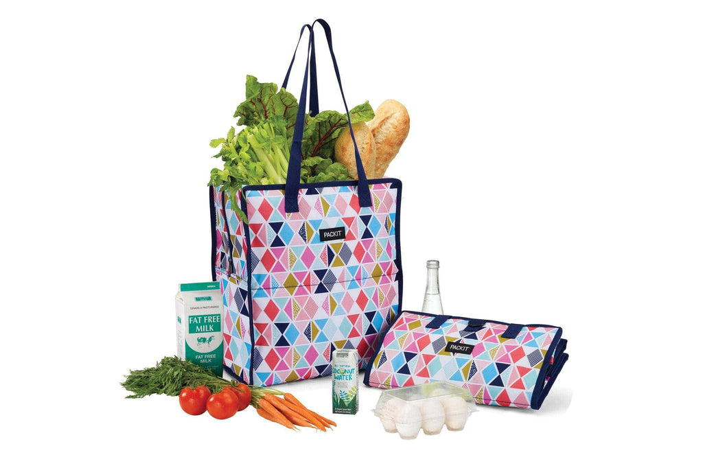 PackIt Freezable Grocery Bag - Festive Gem