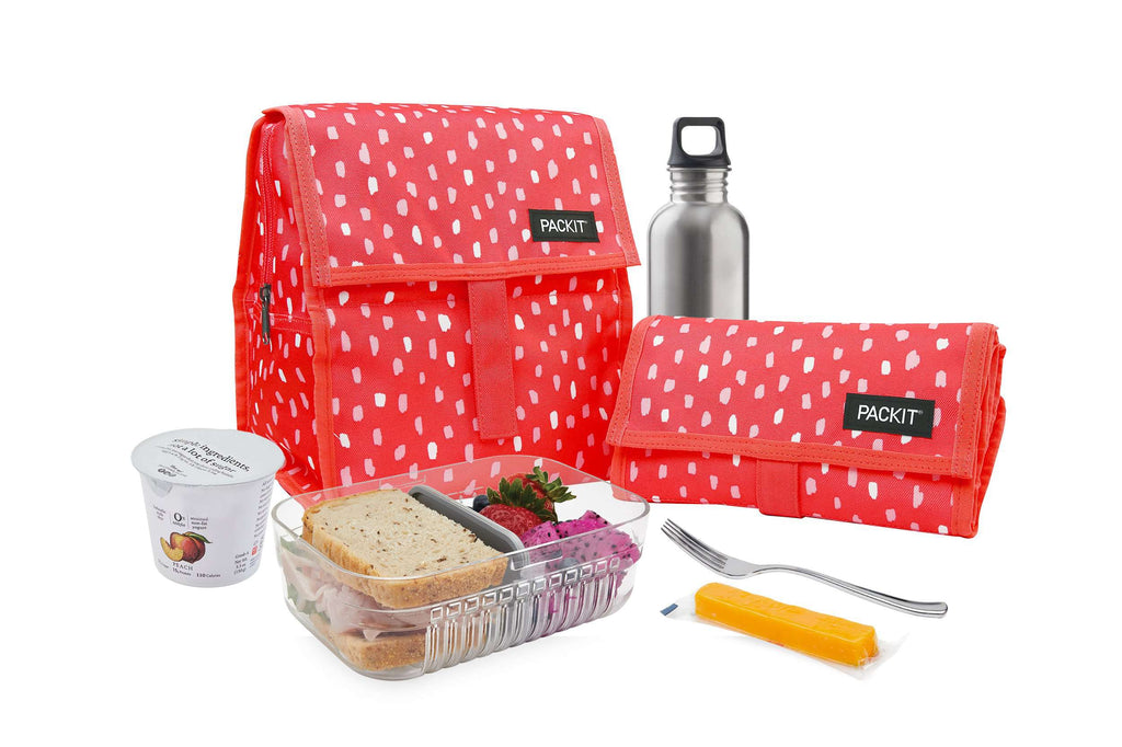 PackIt Freezable Lunch Bag - Melon Spritz - PackIt