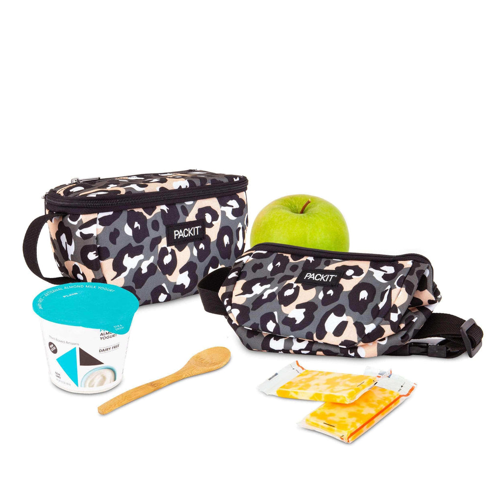 Freezable 3-In-1 Waistpack - Wild Leopard Gray - PackIt