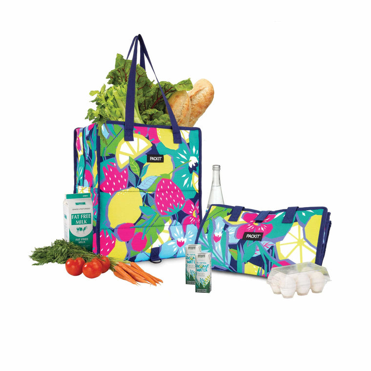 PackIt Freezable Grocery Bag - Fruitopia