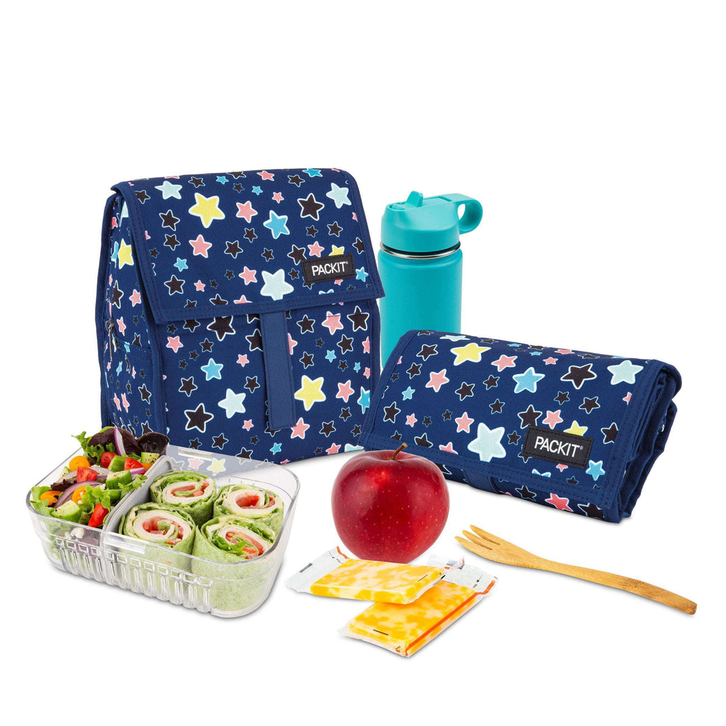 Freezable Lunch Bag - Bright Stars
