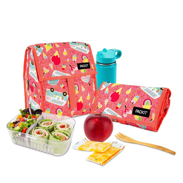 Freezable Lunch Bag - Ice Cream Social