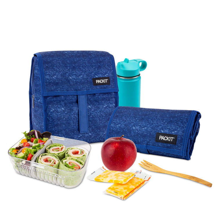 Freezable Lunch Bag - Navy Heather