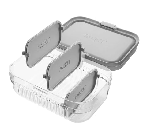 Mod Lunch Bento Container™ - Steel Gray