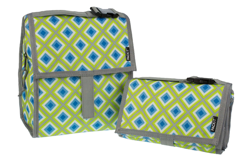 Freezable Lunch Bag - Geometric - PackIt
