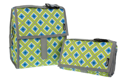 Freezable Lunch Bag - Geometric