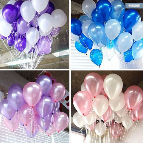 "Classic 10"" Latex Balloon Mega Pack - 100pcs!"