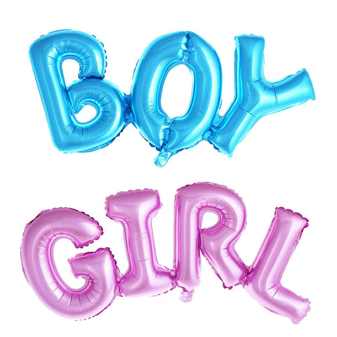Boy & Girl Mylar Balloon