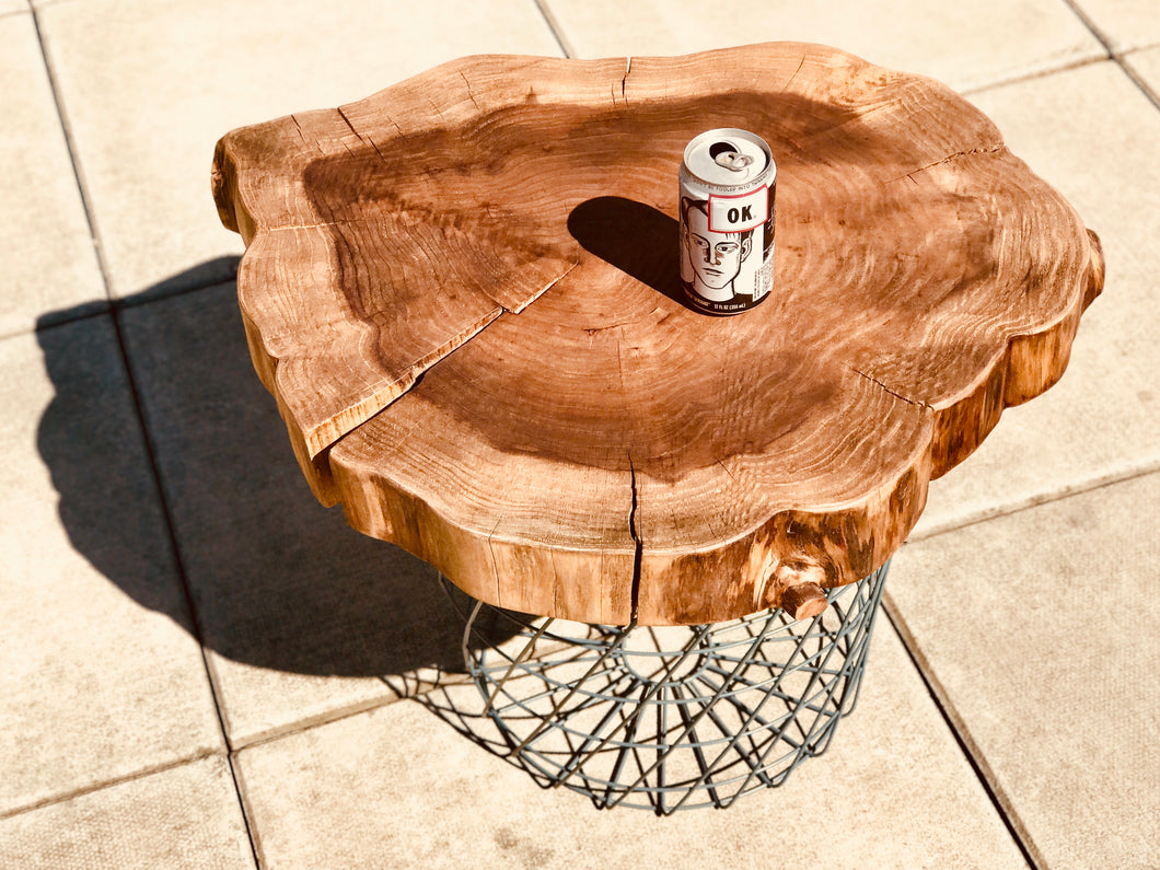 Sebastopol Redwood Table