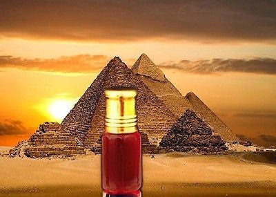 Authentic (Pure Thick Red Egyptian Musk) Thick Intense Pheromones Attar Oil 3ml Bottle