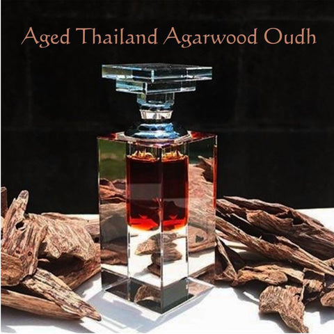 25 Years Old Thai Royal King Supreme Thailand Finest Aged Agarwood Oudh Oil - Limited Rare Edition! Premium A+ Grade - 3ml, 6ml, 12ml
