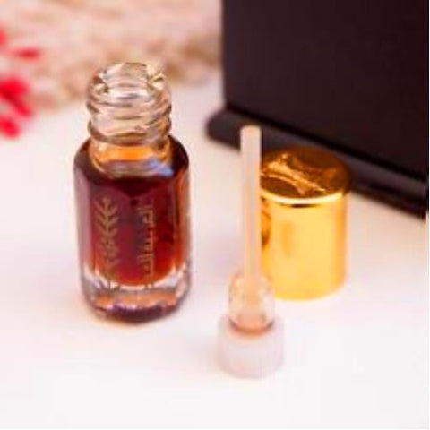 100% Pure Saudi Arabian Oud / Oudh Oil Made from Premium Arabian Agarwood - 3ML