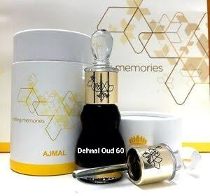 Dehnal Oud 60 by Ajmal Unisex Highest-Quality Cambodi Thick Agarwood Premium Grade Oud - 12ML🥇