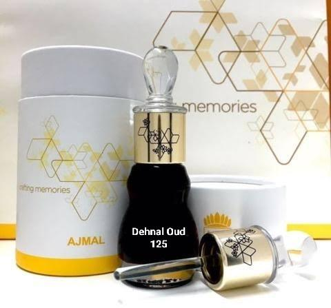 Dehnal Oud 125 by Ajmal Highest-Quality Cambodian Agarwood Premium Grade Oud 25 Years Old/Aged - 12ML🥇