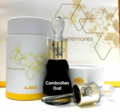 Premium Grade High-Quality Cambodian Thick 25 Years Old Aged Agarwood Oudh Oil by AJMAL - 6ML, 12ML🥇