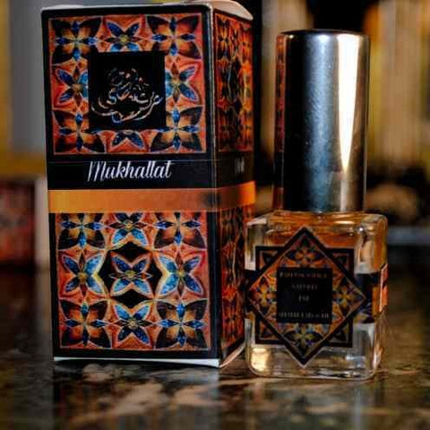 Patchouli Black Solide Parfum Naturel 7ml - Patchouly Perfume Spray / Black Deer Musk Vanillic Licorice Sweet  - DearMusk Signature Collection