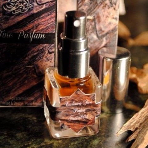 Saharan Incense Signature Perfume Spray 7ml Rich Frankincense Myrrh Amber Parfum - DearMusk Collection