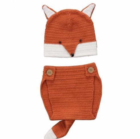 Fox Knitted Set