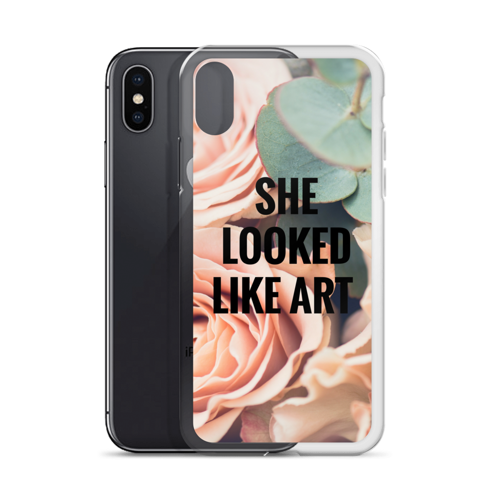 She Looked Like Art Iphone Case