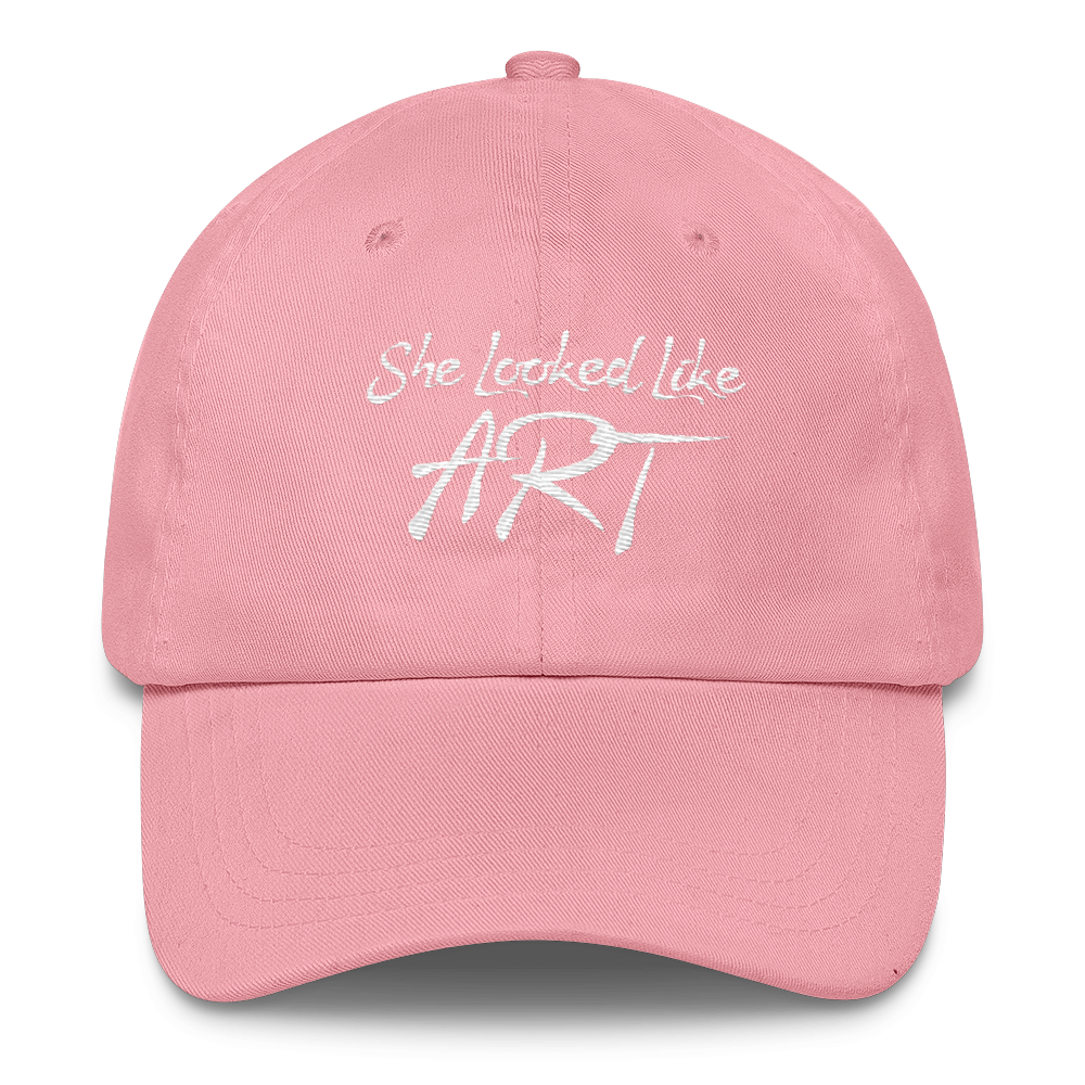 She Looked Like Art Dad Hat