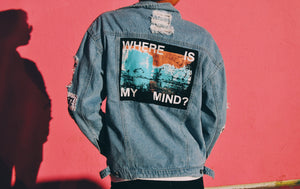 'Where Is My Mind' Denim Jacket