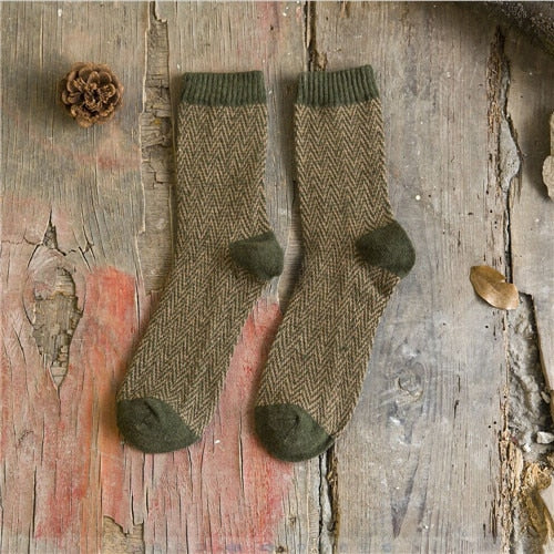 Vintage Wool Socks