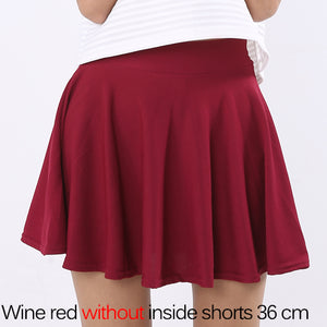 Plain Pleated Skirt