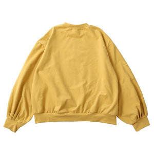 Embroidered Yellow Sweater