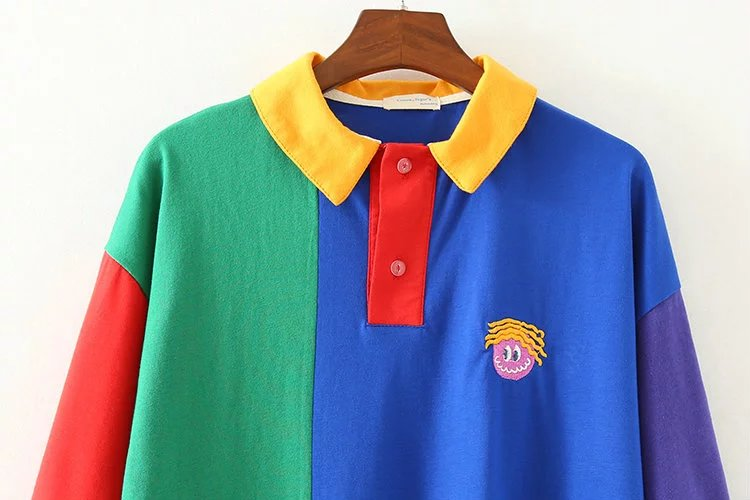 Colorblock Primary Polo