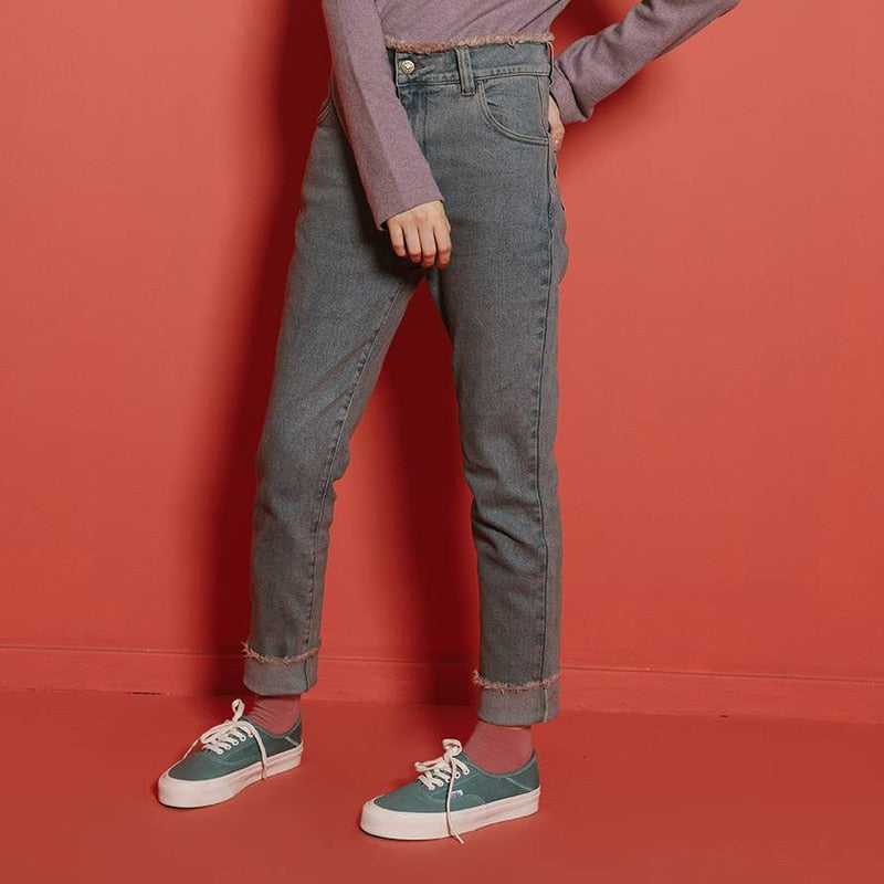 Bleached Skinny Fit Jeans