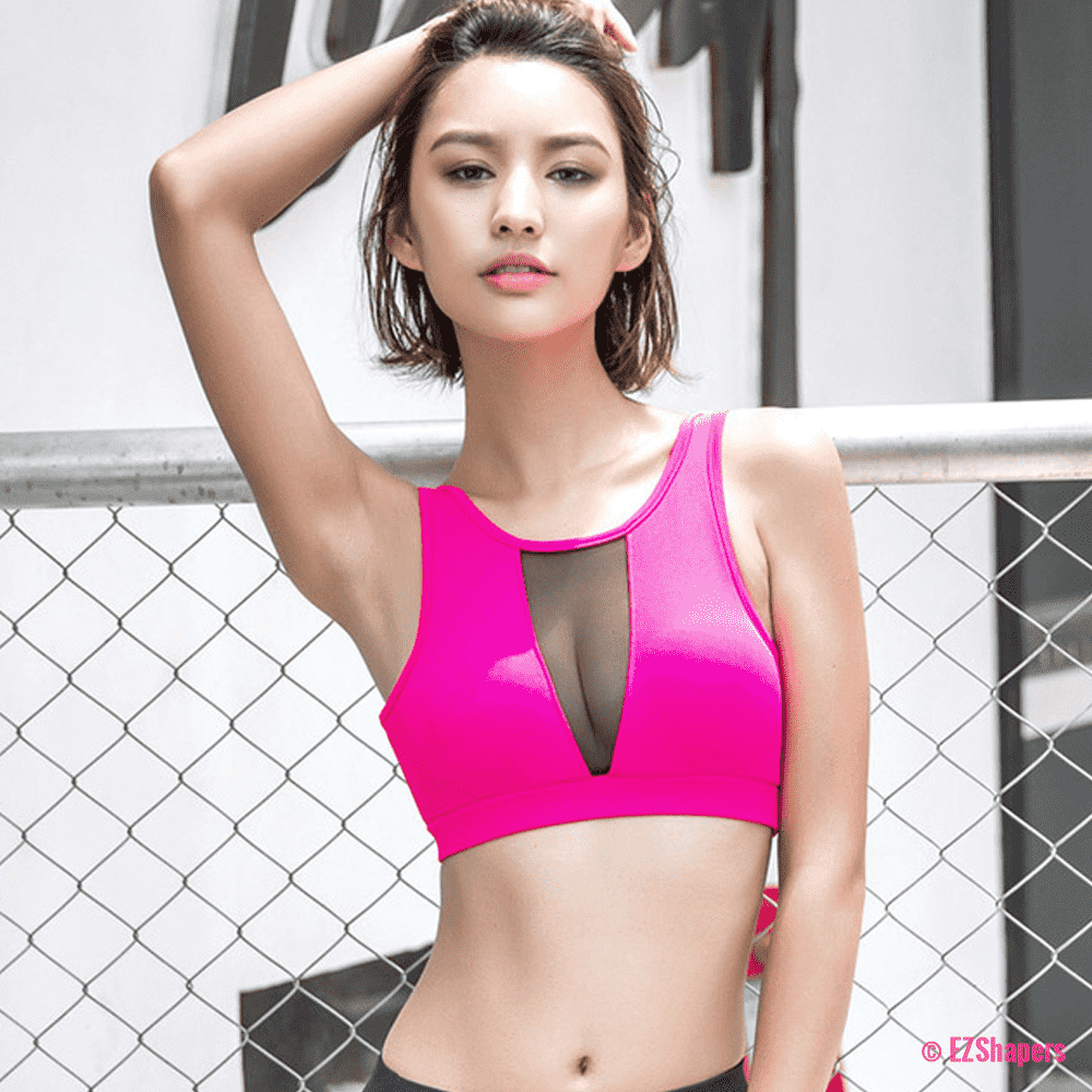 Breathable Workout Slim Wire Free Bra