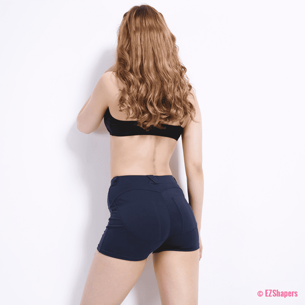 Sexy Solid Slim Shorts
