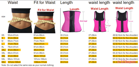 Latex Waist Shaper With Shoulder Support & Zipper/Hook Closure