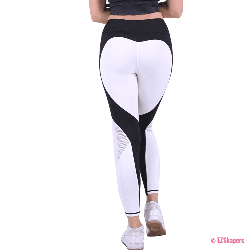 Workout Hollow Out Heart Leggings