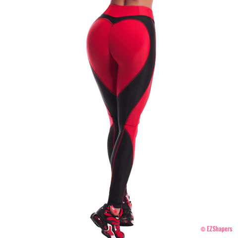 Image of Women Fitness Heart Leggings